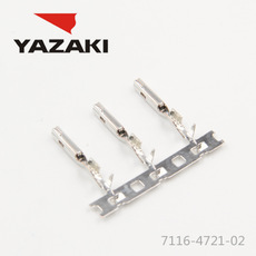 YAZAKI Connector 7116-4721-02