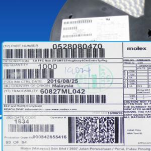 Connector Needle seat MOLEX ORIGINAL 52808-0470 528080470 0528080470